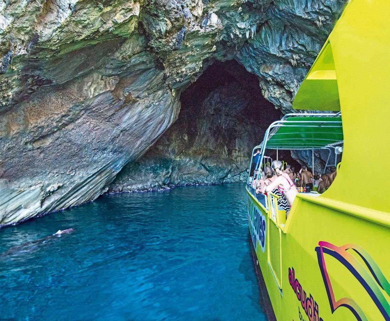 Boot Ausflug auf Mallorca