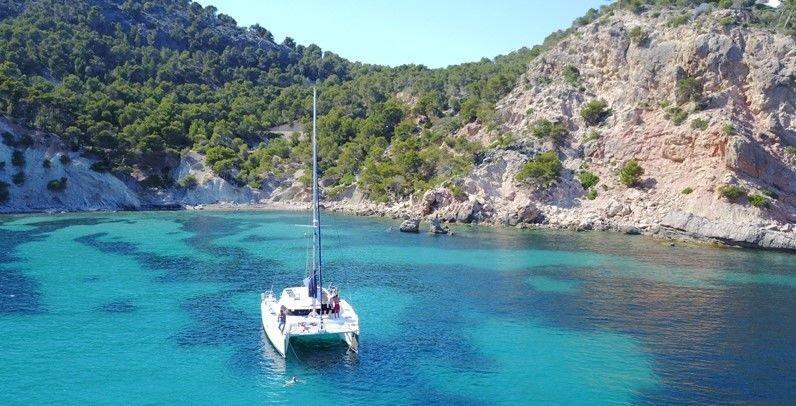 sail4fun catamaran auf mallorca
