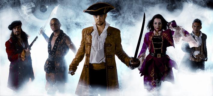 Pirates Shau für ganze Familie
