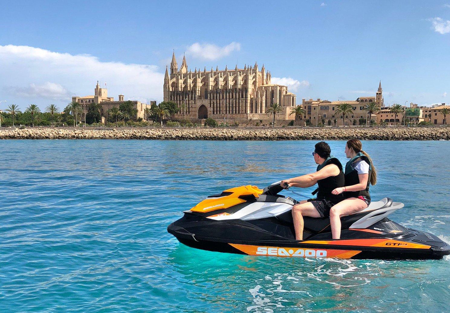 excursion motos de agua