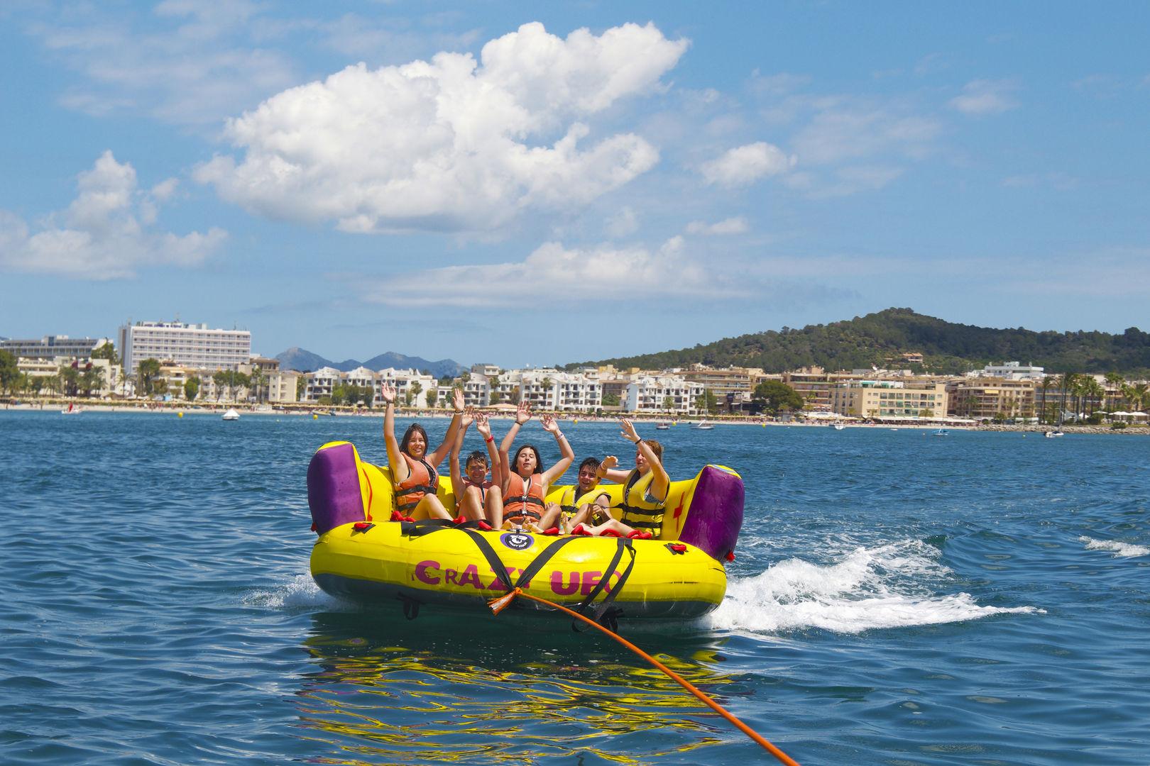 Actividad de Sofa de pack deportes aquaticos
