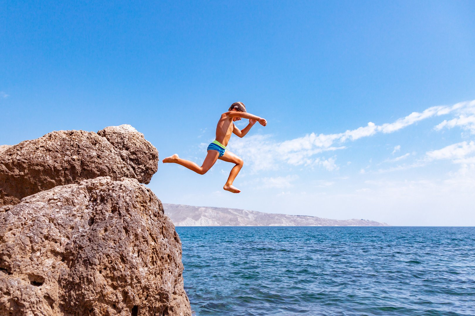 Aventura en Mallorca haciendo cliff jumping