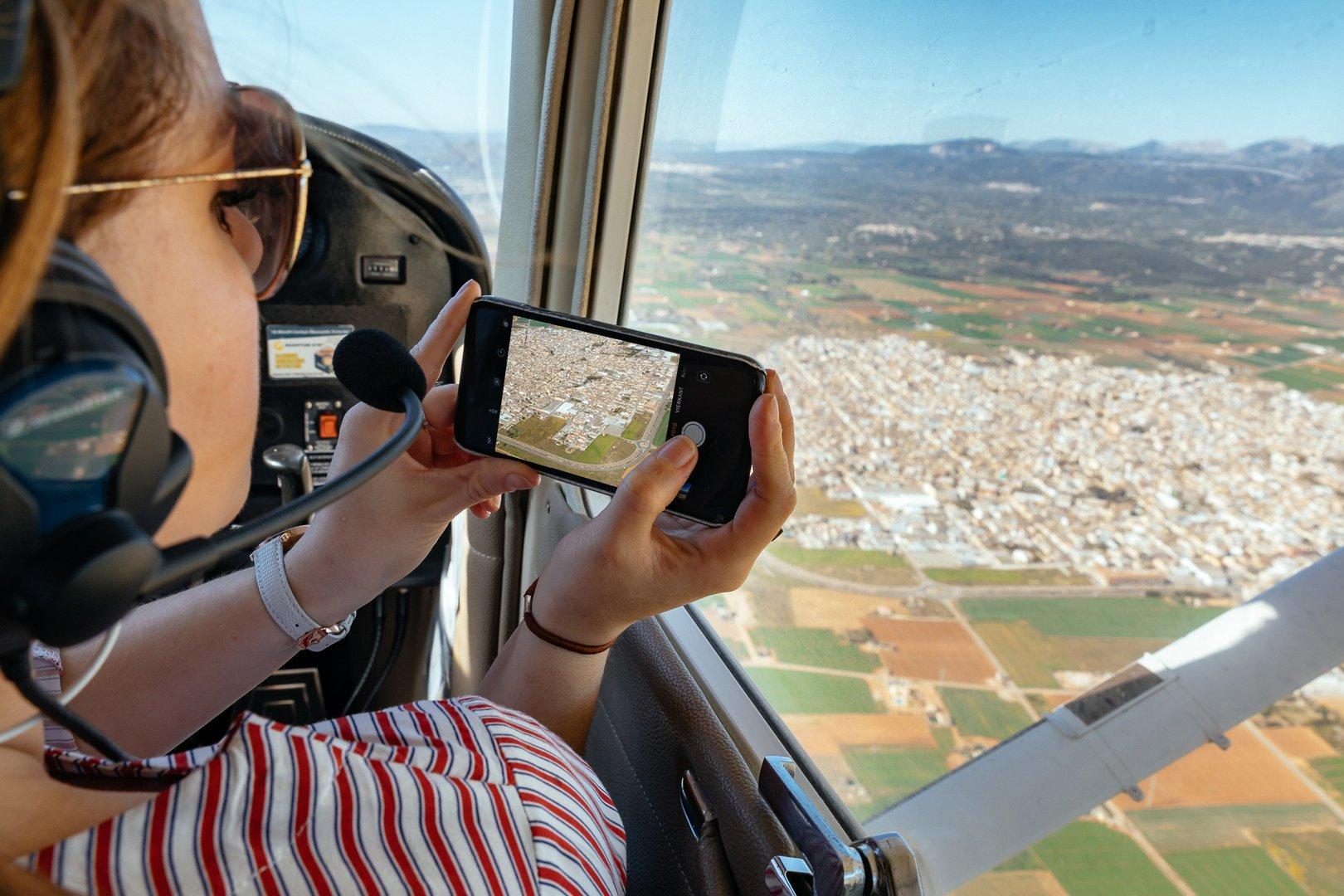 Volar en avioneta en Mallorca