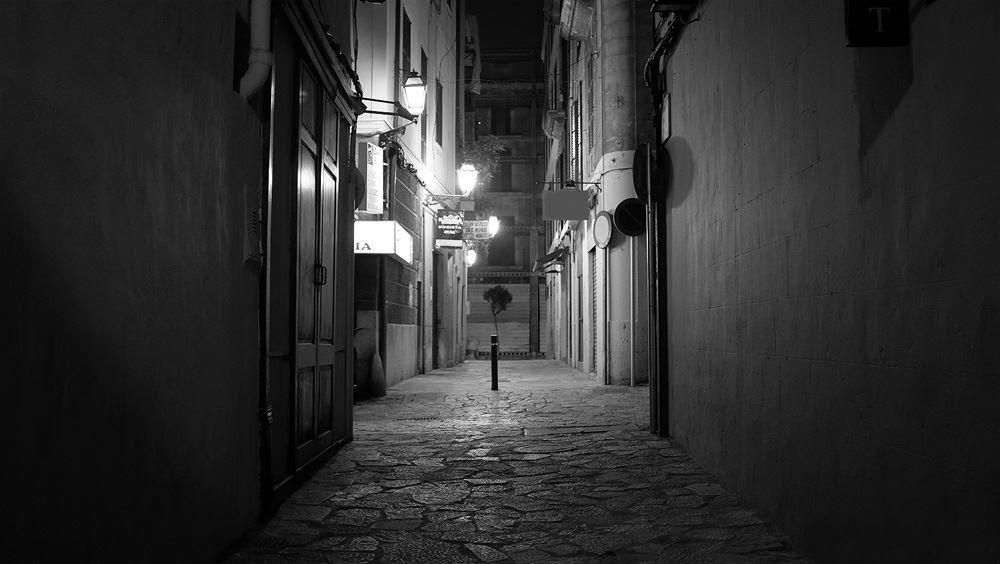 Calle de Palma de noche