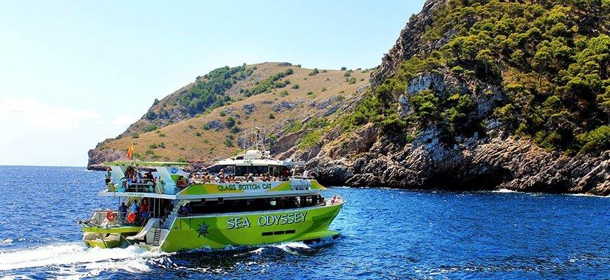 excursión en barco en Mallorca
