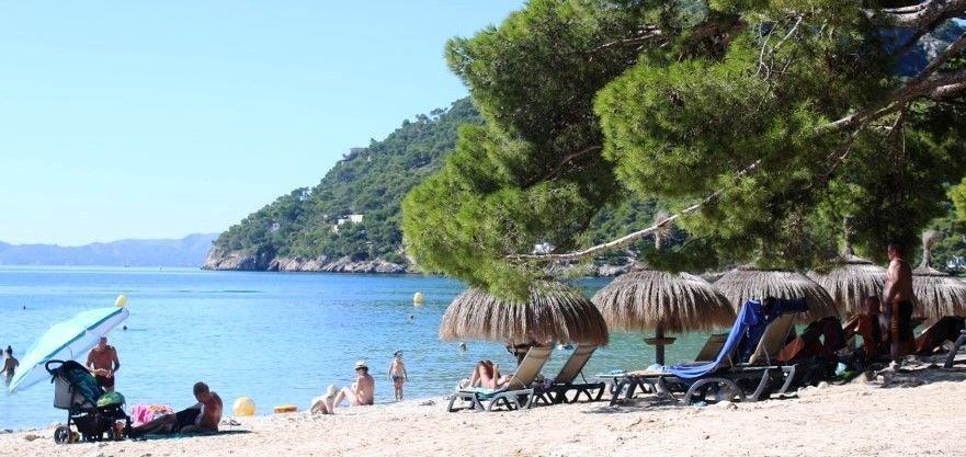 vista a Playa de Formentor