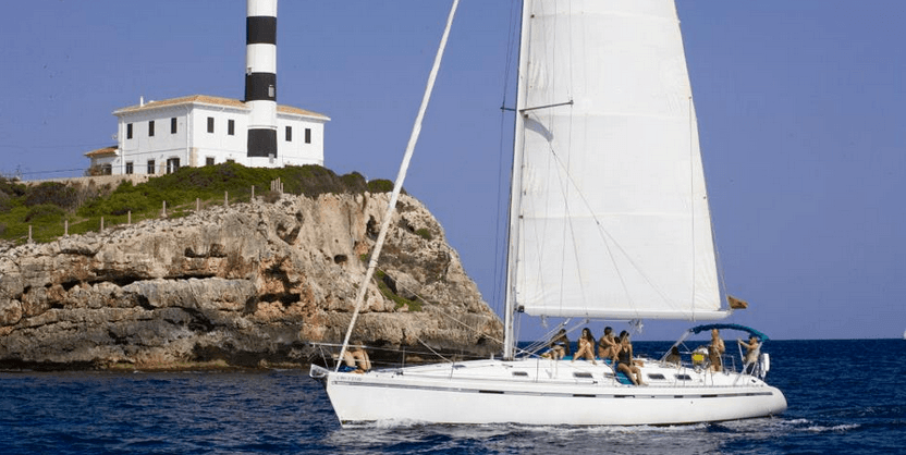 excursión en velero en Mallorca