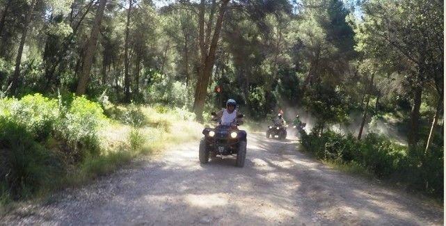quad excursion en Alcudia
