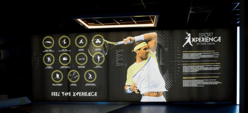 Rafa Nadal, Tennisplayer number 1
