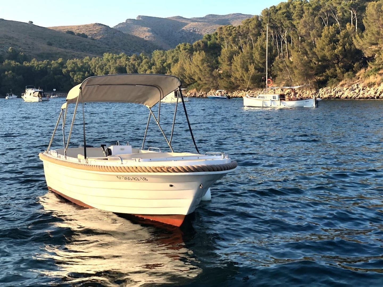 no licence boat rental in mallorca