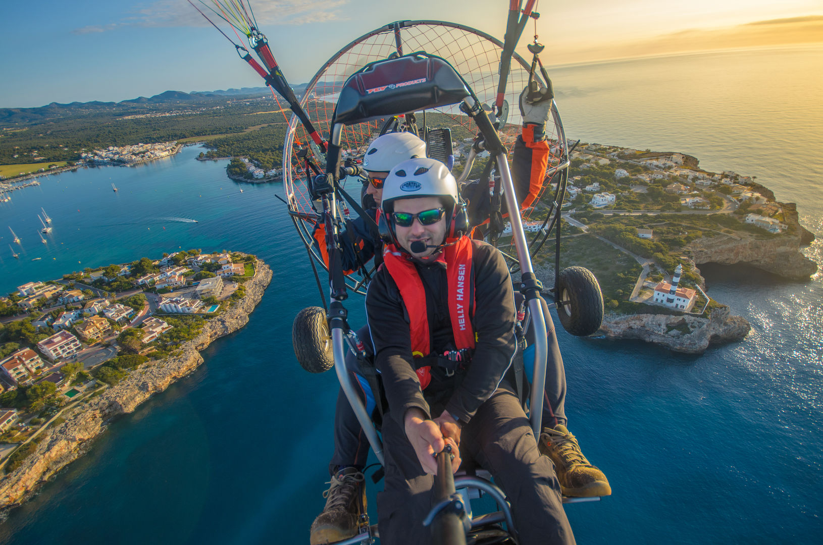 Paratrike Flight in Mallorca