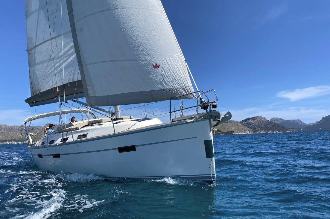 sailing boat mallorca