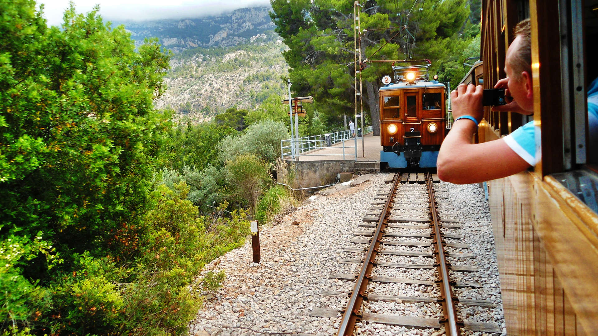 View from the Soller Train
